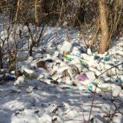 """""""Моя хата скраю"""": на Богородчанщині біля річки зробили звалище сміття (фото)"""