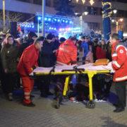 17-річна студентка, котра постраждала на відкритті новорічної ялинки у Франківську, практично не бачить на ліве око (відео)
