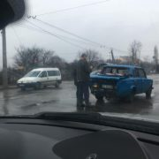 У Франківську на вулиці Незалежності трапилась аварія (фото)