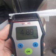 Майже 5 проміле алкоголю виявили патрульні у водія, який вчинив ДТП у Франківську