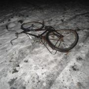 В передмісті Івано-Франківська фургон збив велосипедиста