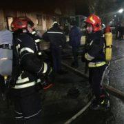 Під час вечірньої пожежі на «БАМі» «надзвичайники» евакуювали 21 особу. Чотирьох людей довелось госпіталізувати