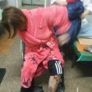 На Запоріжжі жінку скалічили у лікарні (фото)