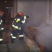 Безхатченко влаштував пожежу в підвалі багатоповерхівки на «Братах»