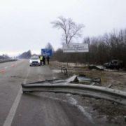Пасажирський автобус потрапив в смертельне ДТП