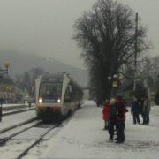 """З Коломиї до Рахова відтепер можна доїхати сучасним """"рейковим автобусом"""" (ФОТО)"""