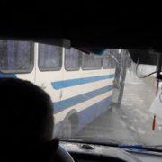 """Перегони """"Формули"""": на Прикарпатті автобуси ганяють, як навіжені, незважаючи на пасажирів. ФОТО"""