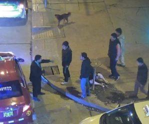 Хлопець жорстоко знущався над подругою прямо на вулиці. І дивись, що зробили перехожі…(відео)