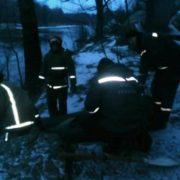 На Житомирщині жінка стрибнула з 45-метрового мосту