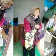 """У Франківську """"женщина в тигровій шкурі"""" продає сурогат пиякам: муніципали знищили 21 літр пійла"""