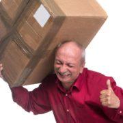 Чоловік відправив себе посилкою у Харків, щоб вкрасти інші вантажі