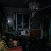 На Прикарпатті ледь не згорів 2-х поверховий житловий будинок (фото)