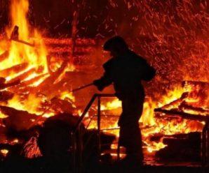 На Прикарпатті у пожежі загинув відомий знахар (відео)