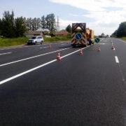 Дорожники приступили до завершення ремонту дороги Стрий-Мамалига (фото)