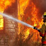На Франківщині у палаючому будинку рятувальники виявили тіло літнього чоловіка