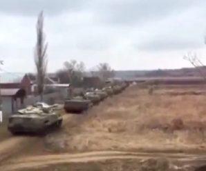 """""""Російські танки пробралися в Україну"""": У Мережі з'явилося відео вторгнення"""