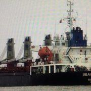 Київ арештував судно РФ за видобуток піску в Криму