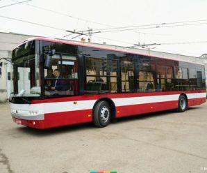 Марцінків протестував приїхавший в місто, новенький автобус