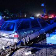 Масштабна вечірня аварія у Коломиї – розбиті два Опелі та Лексус (ФОТО)