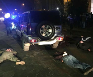 З'явилось відео стрілянини біля нічного клубу Івано-Франківська