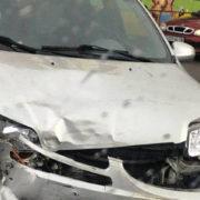 ДТП в Івано-Франківську: автівка зіштовхнулася з мотоциклом (фото)