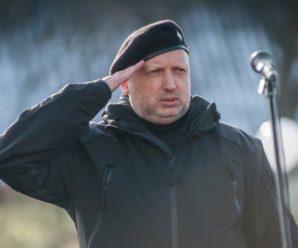 Турчинов пояснив, що зміниться з початком операції Об'єднаних сил на Донбасі