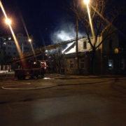 Під час пожежі на Бандери отруїлася чадним газом 82-річна жінка (фото)
