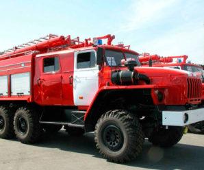 На Прикарпатті, їдучи на виклик, перекинулася машина пожежної служби