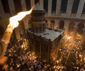 В храмі Гробу Господнього в Єрусалимі сталося чудо. Перші кадри