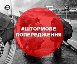 На Прикарпатті оголошено штормове метеопопередження