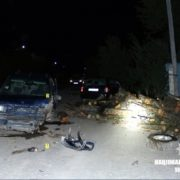 Винуватець ДТП на Надвірнянщині, у якій загинула 25-річна жінка, був п'яний. ФОТО
