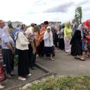 У Франківську російська община відзначила День Перемоги молебнем на кладовищі. ФОТО