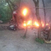 """""""Там знаходилося 33 дитини"""": В Україні спалили ще один табір ромів"""