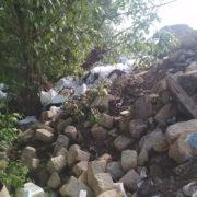 Львівський синдром. Франківчани перетворили берег Бистриці в сміттєзвалище (фото)