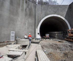 Який вигляд має Бескидський тунель перед відкриттям – добірка фото