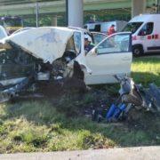 Біля Варшави в аварію потрапило десятеро українських студентів (фото)