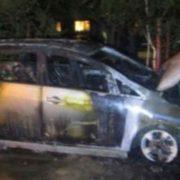 Це попередження? Невідомі спалили авто одіозного прокурора