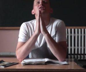 ЗНО: вчитель з Рівненщини кумедно підтримав майбутніх абітурієнтів