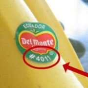З пестицидами та ГМО. Як за допомогою наклейки на бананах купити якісний продукт