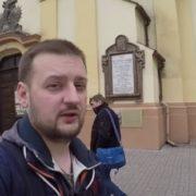 """Російський блогер побував у Франківську та поставив йому """"лайк"""". ВІДЕО"""