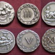 Розгадали таємницю монет із зображенням інтимних сцен
