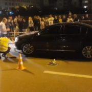 В адміністрації президента відхрещуються від автомобіля який збuв велосипедиста на переході у Києві