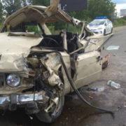 Внаслідок ДТП у Луцьку, в лікарню потрапило двоє людей і 4-річна дитина