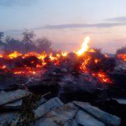 Цієї ночі на Прикарпатті вщент згоріла церква (фото+відео)