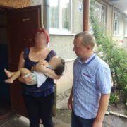 В Івано-Франківську позбавлена батьківських прав жінка викрала малолітню дитину. ФОТО