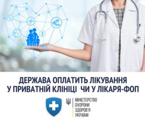Медреформа: у приватних лікарів українці можуть лікуватися безкоштовно