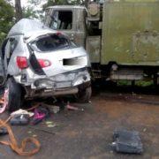 На Тернопільщині під час ДТП за участі військової вантажівки загинуло дві жінки (ФОТО)