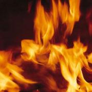 На Прикарпатті згоріла будівля з кормами та млин