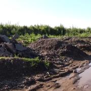 Берег Бистриці у Франківську перетворився на полігон будівельних відходів (ВІДЕО)