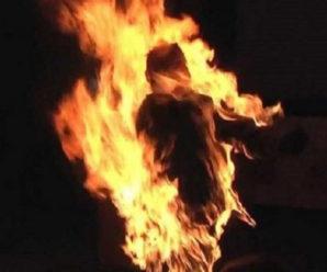 Хотів себе спалити! 53-річний франківчанин облився бензином і погрожував самогубством